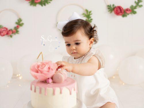 Un añito es muy especial {cake smash en oviedo}